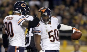 Bears swarms to perfect 3-0 start