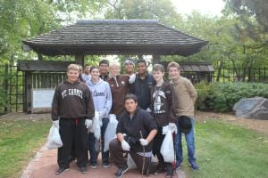 Mount Carmel freshmen participate in IMPACT service learning program