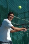 Offseason tennis regimen propels Pochop to Valpo's No. 3 singles position