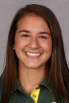 Oregon pole vaulter Melissa Gergel