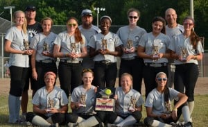 Indiana Raiders 18U softball team win Summer Slam Showcase in Warsaw