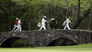 Garcia, Leishman tied for lead at Masters
