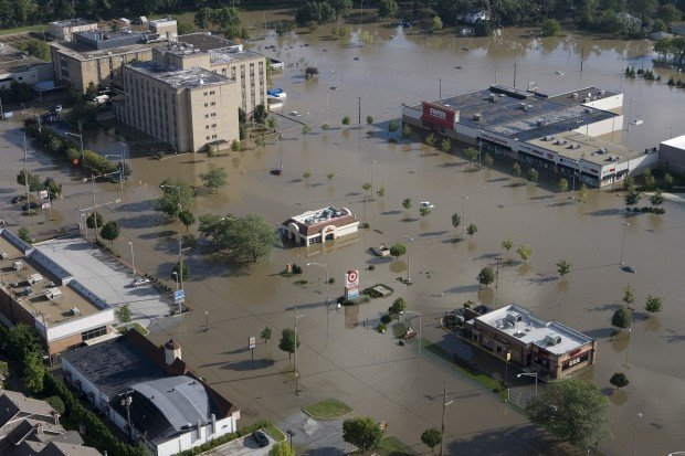 Looking Back At The Flood Of 2008 Porter County News