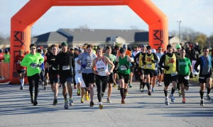 Ohio resident captures Valpo 13.1 title over Chesterton's Mitch Wilborn on windy course