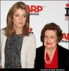 Caroline Kennedy and Helen Thomas