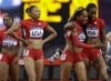 The U.S. women's 4 X400-meter relay team