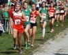 Elena Lancioni, Alison Mundell, Kyra Bell, Ellie Joll, cross country