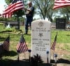 081212DELAGARZA, new headstone for Lance Cpl. Emilio De La Garza