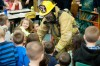 Firefighters share safety tips with Northview students