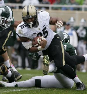 Purdue hangs close but falls to Michigan St.
