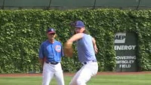 Samardzija finding groove with Cubs