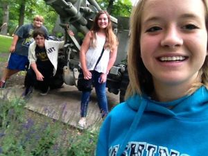 Crete teens take part in Picture It Scavenger Hunt