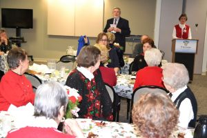 Volunteers' year-round services celebrated during holiday season
