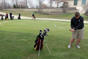 Chesterton's Martin finds his golf game