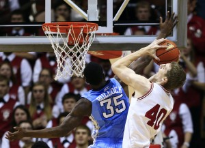 No. 1 IU rolls past No. 14 N. Carolina