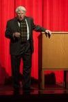 Robert Frost comes alive at season's final Sinai Forum