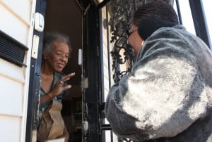 Elected officials help Meals on Wheels deliver to elderly