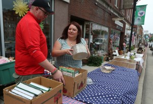 Lowell sidewalk sale shoppers find treasures