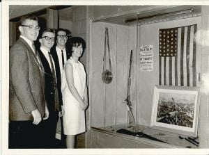 T.F. South students offer 1965 class gift