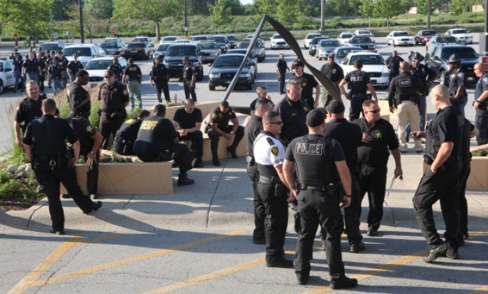 Police saturate area in fight against crime for Laporte county state of emergency
