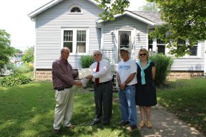 1st Source Bank donated house to Habitat for Humanity