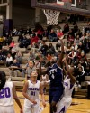 Michigan City's Dejania Evans shoots