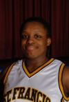St. Fracnis de Sales girls basketball player Isis Mance