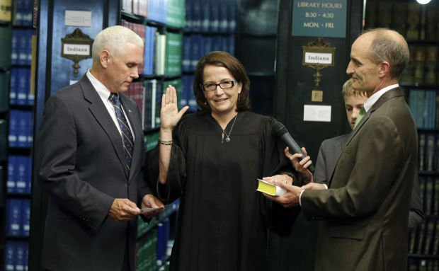 Chief Justice Rush takes helm of Indiana's courts