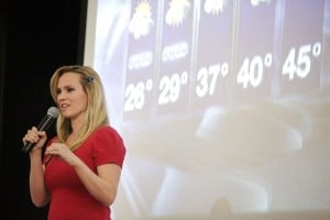 Meteorologist shows St. John kids the future is bright