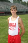 T.F. South runner Dylan Angell