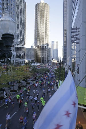 Picturesque conditions lead to strong Chicago Marathon finishes