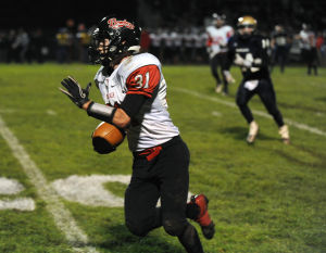 Rensselaer's Walker a role model on and off the football field