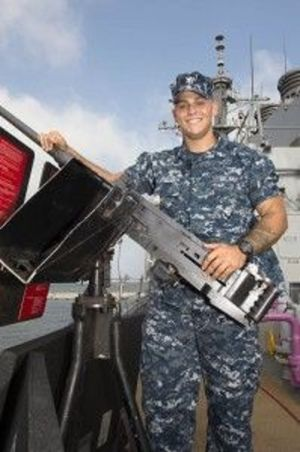 Area native serves aboard top Navy destroyer