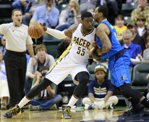 Pacers getting to basics after losing George