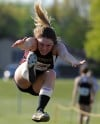 Chesterton's Kaitlin Loehmer was sixth in the long jump
