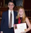 Business major honored as one of top Illinois college seniors