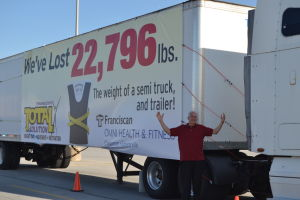 Truck manager finds good health requires commitment