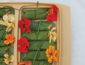 Edible Flowers: Beyond a pop of color, flowers bring big flavor