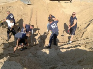 Boy's survival from sand dune celebrated in 2013