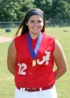 SBHPLAYEROFYEAR Andrean's pitcher, Nikki Steinbach,  and Coach of the Year, Brooke Baker-Runyon