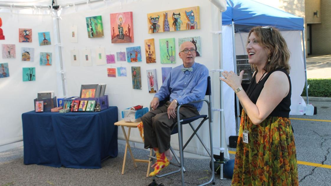 Longtime michigan city arts fest revamped in new site for Laporte county news