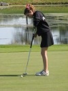 Homewood-Flossmoor sophomore golfer Sarah Armstrong