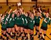Wheeler volleyball players