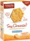 Van's Natural Foods Fire-Roasted Veggie and Say Cheese Gluten Free Crackers