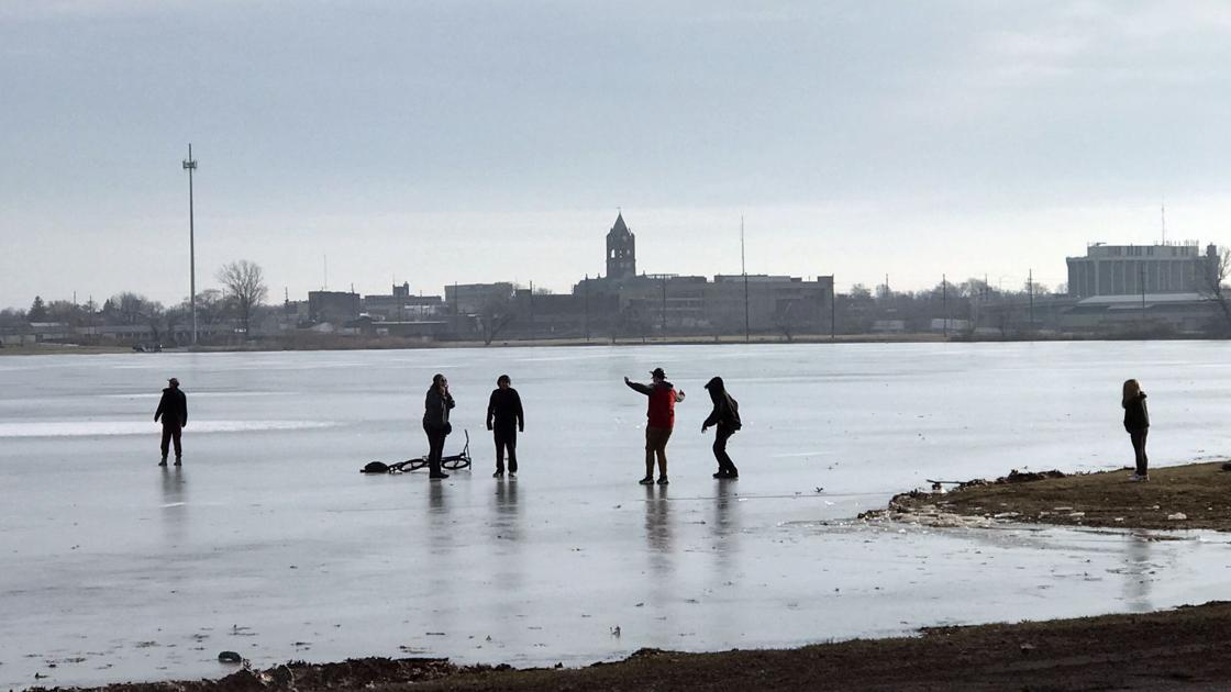 Minivan skids across frozen lake in laporte laporte for Laporte news