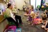 Preschoolers hear story