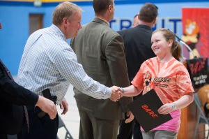 Trinity Lutheran students graduate DARE Program
