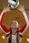 Times Indiana girls volleyball player of the year Alyssa Kvarta.