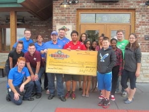 Monthlong campaign at Texas Roadhouse a success