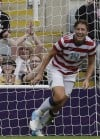 Wambach leads U.S. women's soccer team into semifinals